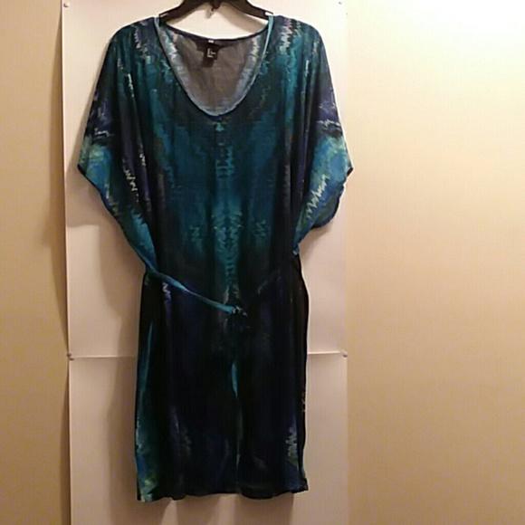 a5a8b479ad239 H&M Swim | Hm Top Kimono Coverup Size Xl | Poshmark